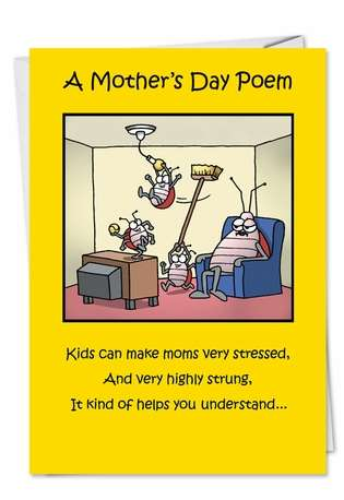 Mother's Day Poem Greeting Card