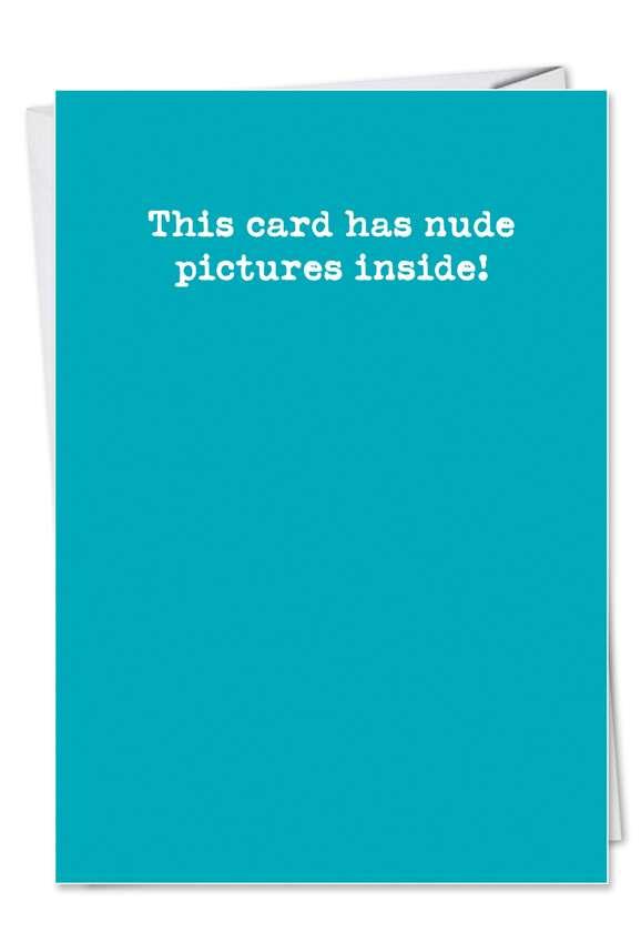Humorous Birthday Paper Greeting Card from NobleWorksCards.com - Believe in Jesus