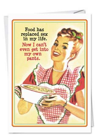 Hysterical Birthday Paper Card by Ephemera from NobleWorksCards.com - Own Parts
