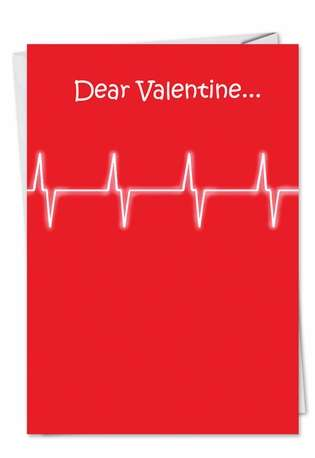 Humorous Valentine's Day Greeting Card by Tim Whyatt from NobleWorksCards.com - Thinking Of You