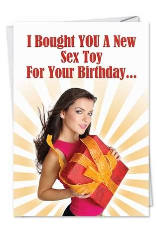 Humorous Birthday Paper Card from NobleWorksCards.com - Pacemaker
