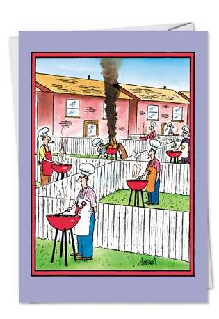 Hilarious Birthday Printed Greeting Card by Tom Cheney from NobleWorksCards.com - Well Done