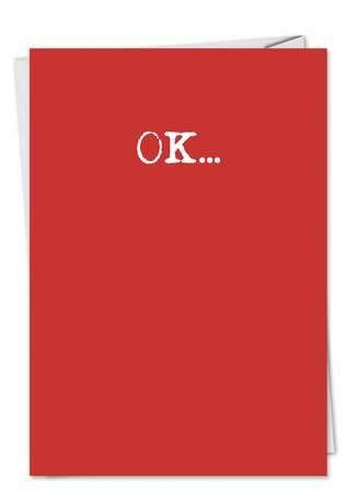 Humorous Valentine's Day Greeting Card from NobleWorksCards.com - Wash It Text
