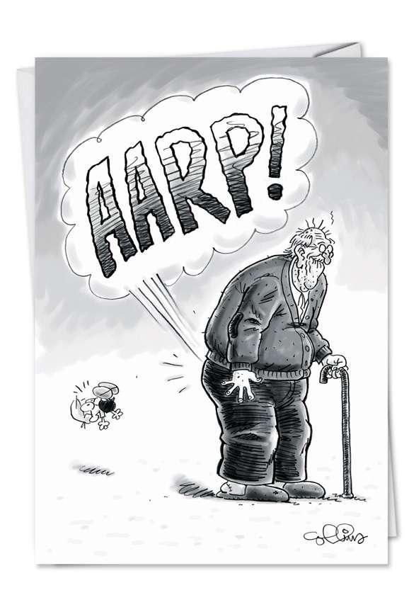 AARP: Funny Birthday Printed Card