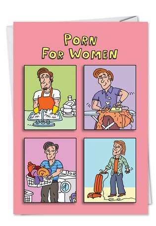 Hilarious Birthday Paper Card from NobleWorksCards.com - Porn For Women