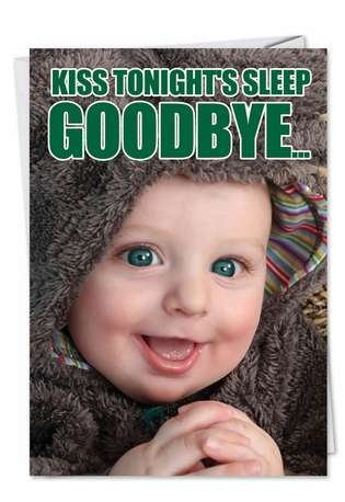 Funny Birthday Paper Card from NobleWorksCards.com - Tonight's Sleep