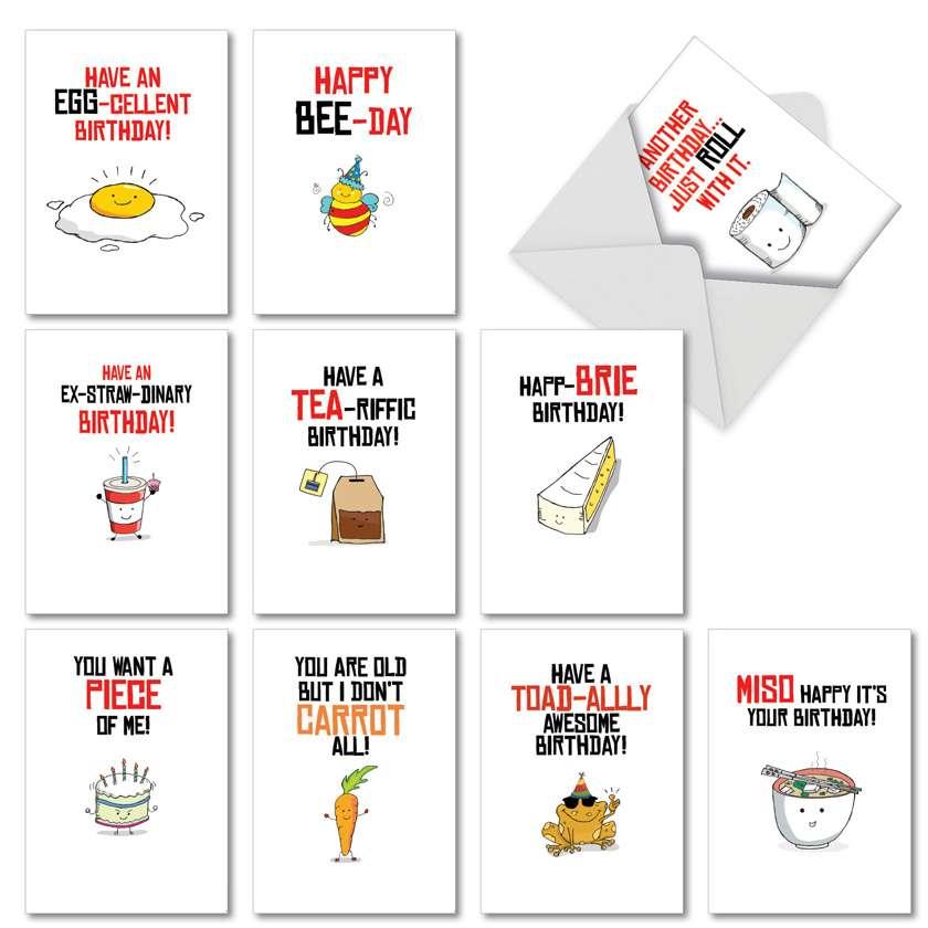Stylish Birthday Card By NobleWorks Inc From NobleWorksCards.com - Birthday Puns