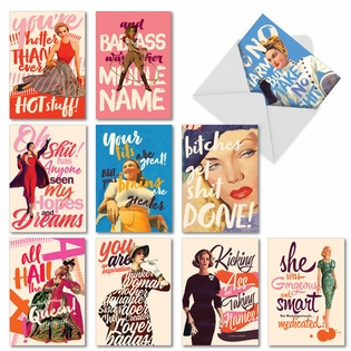 Funny All Occasions Card By Offensive+Delightful From NobleWorksCards.com - O+D Power Girls