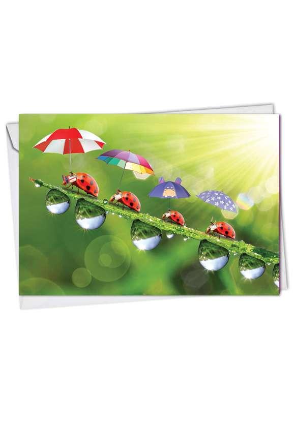 Stylish Birthday Paper Card from NobleWorksCards.com - Lady B