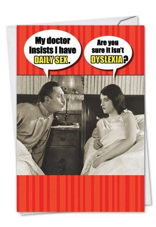 Funny Valentine's Day Greeting Card from NobleWorksCards.com - Daily Sex