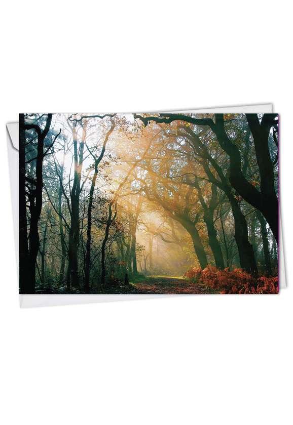 Shining Through: Stylish Get Well Printed Card
