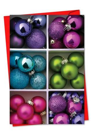 Creative Christmas Printed Card by Creative Image Library from NobleWorksCards.com - Christmas Crates