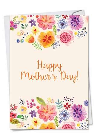 Grateful Greetings: Stylish Mother's Day Paper Card