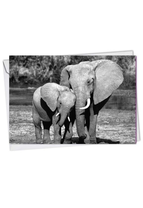 Creative Mother's Day Paper Greeting Card from NobleWorksCards.com - Trunks Of Love