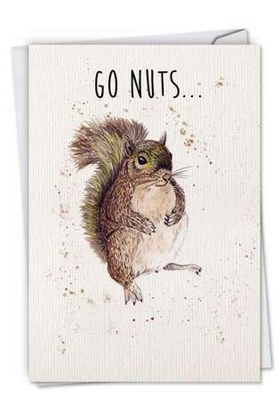 Stylish Birthday Greeting Card by Katherine Williams from NobleWorksCards.com - Wildlife Expressions