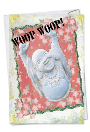 Hilarious Congratulations Greeting Card by Jane Alden from NobleWorksCards.com - Woop Woop