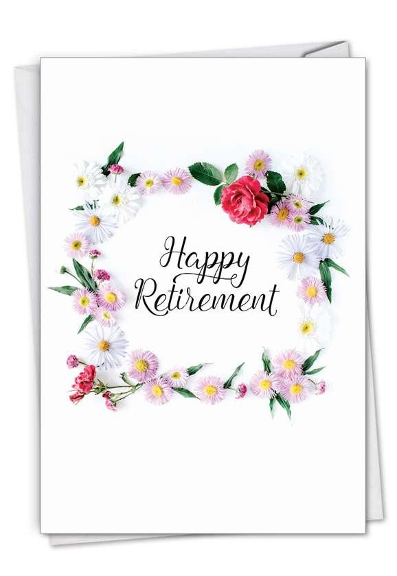 Creative Retirement Greeting Card From NobleWorksCards.com - Elegant Retirement