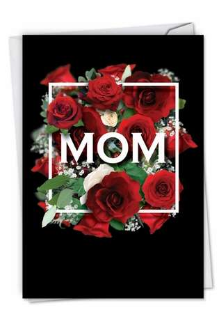 Creative Mother's Day Greeting Card from NobleWorksCards.com - Mom Squared