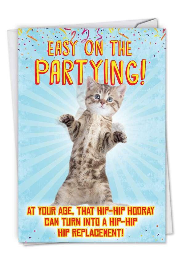 Hilarious Birthday Greeting Card from NobleWorksCards.com - Hip-Hip Hooray