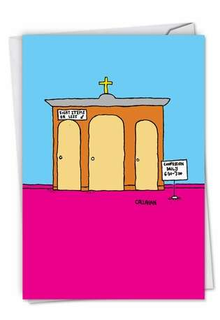 Humorous Birthday Card By John Callahan From NobleWorksCards.com - John Callahan's Daily Confession
