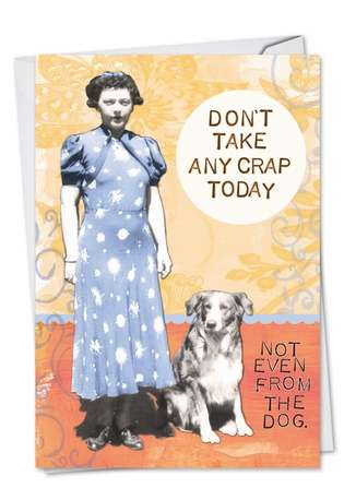Stylish Birthday Greeting Card by Debbie Tomassi from NobleWorksCards.com - Bodacious Broads