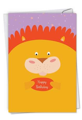 Creative Birthday Paper Card from NobleWorksCards.com - Fur You