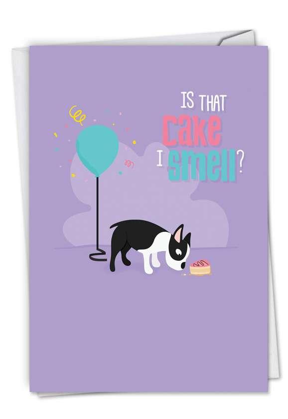 Creative Birthday Greeting Card by Jennifer Lange from NobleWorksCards.com - Doggone Awesome Notes