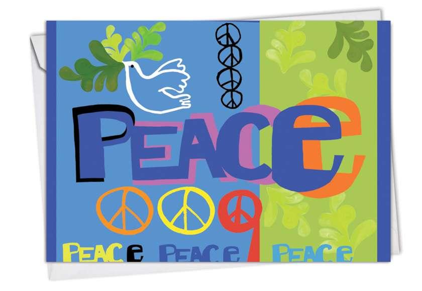 Creative Blank Greeting Card by Maret Hensick from NobleWorksCards.com - Grateful Graffiti