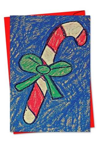 Stylish Christmas Paper Card by Amy Kern Wickline from NobleWorksCards.com - Coloring