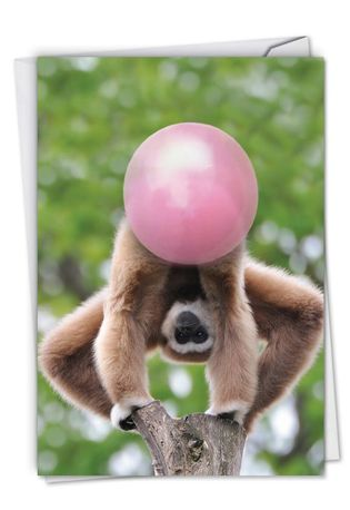 Creative Birthday Greeting Card From NobleWorksCards.com - Balloon Animals