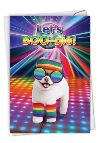 Funny Birthday Card By Spotlight Licensing From NobleWorksCards.com - Let's Boo-gie