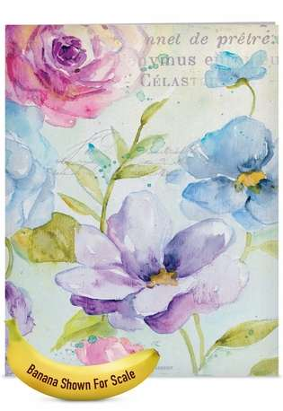 Creative Mother's Day Jumbo Printed Card from NobleWorksCards.com - Cool Blossoms