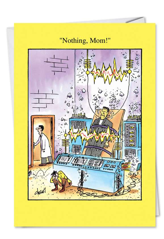 Nothing Mom: Hysterical Mother's Day Printed Card