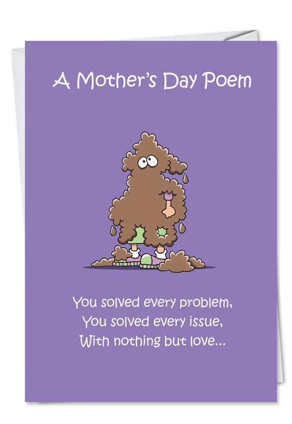 Spit on Tissue: Hysterical Mother's Day Paper Card