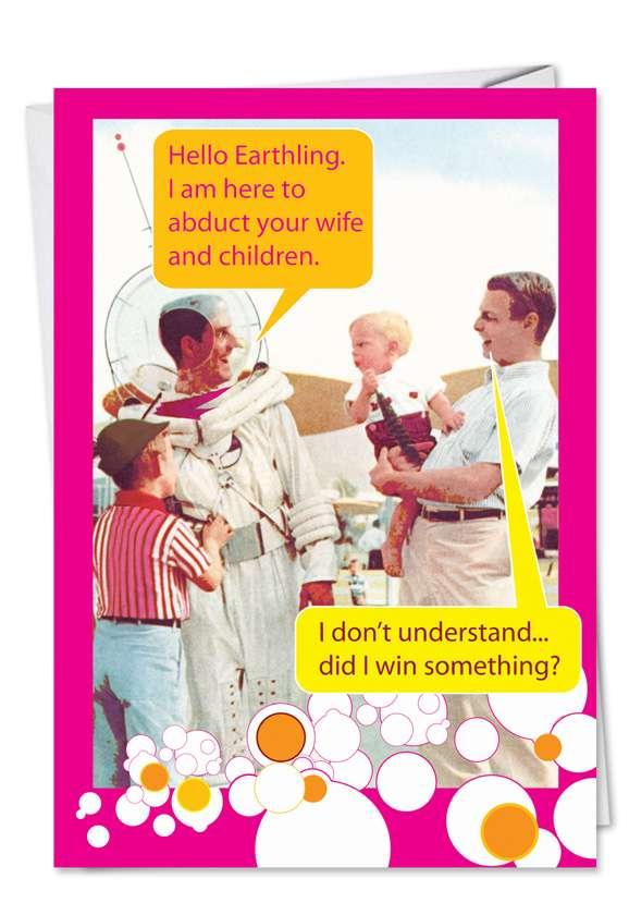 Moon Man Card