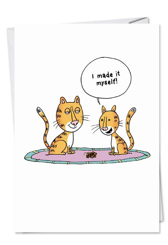 Made It Myself: Humorous Mother's Day Greeting Card
