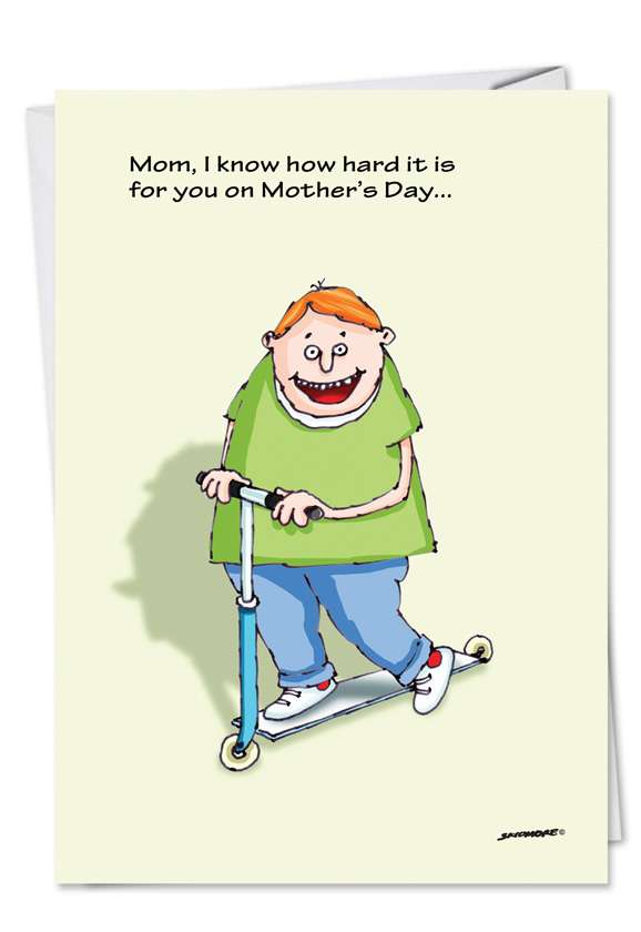 Humorous Mother's Day Greeting Card by David Skidmore from NobleWorksCards.com - Favorite Child