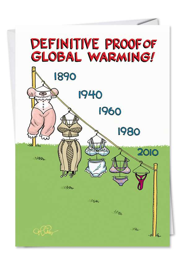Global Warming Redux Card