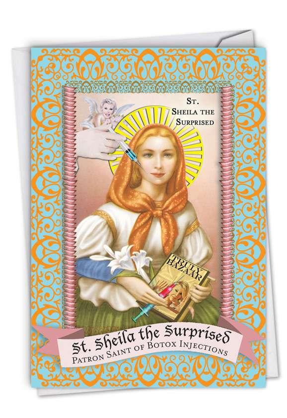 St Sheila Card