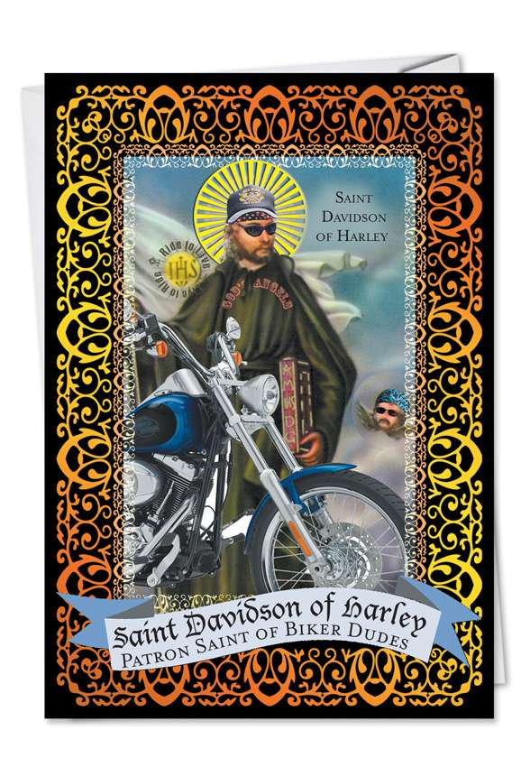 St Davidson of Harley Card