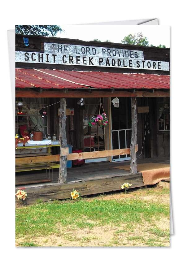 Schit Creek: Hysterical Birthday Greeting Card