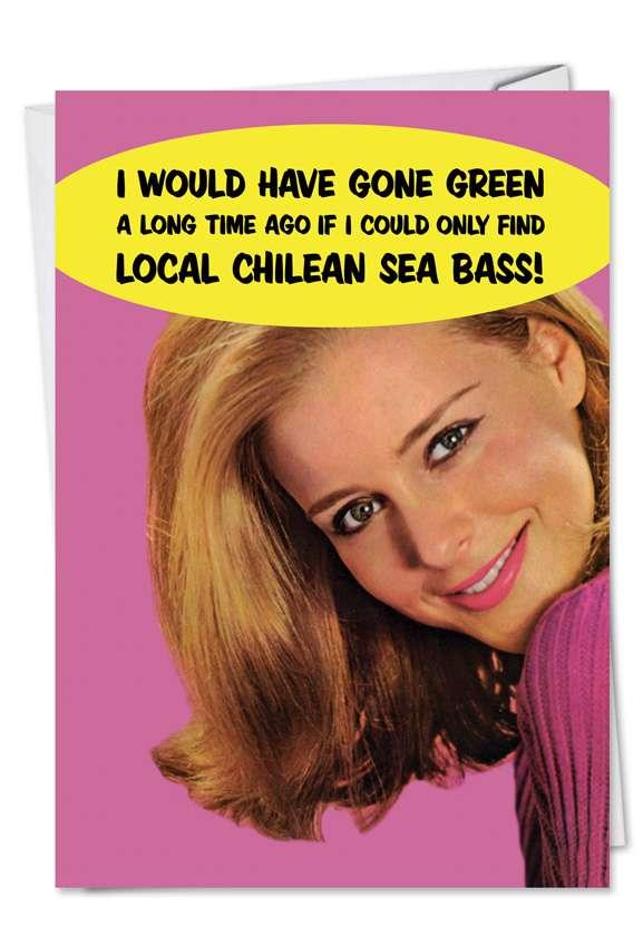 Sea Bass Card