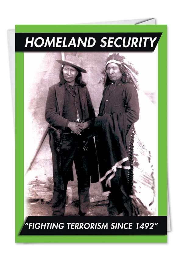 Homeland Security Card