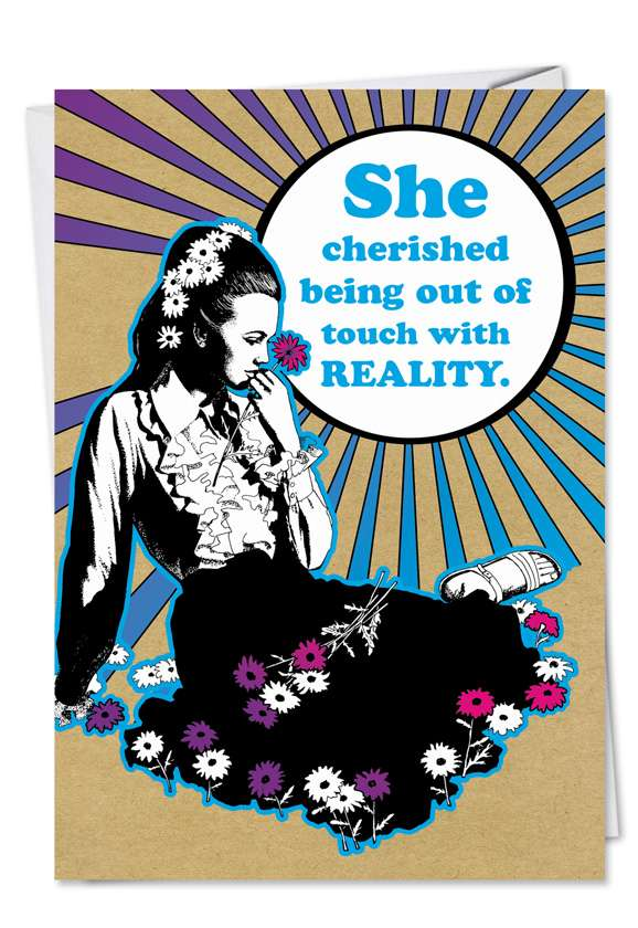 Reality: Funny Birthday Paper Greeting Card