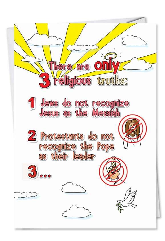 Three Religious Truths Card
