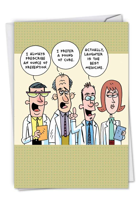 Idiot Doctors: Hilarious Get Well Greeting Card