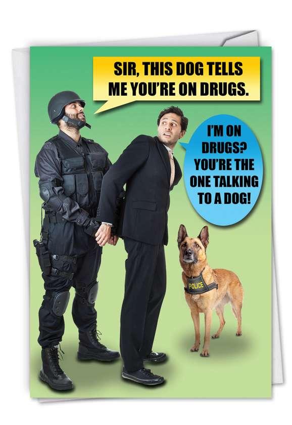 D**g Dog Card