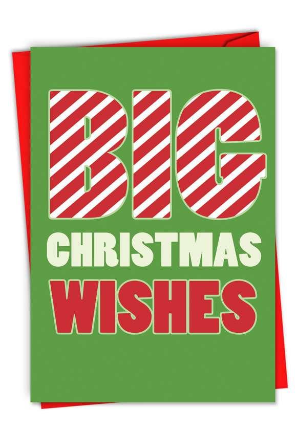 Big Christmas Wishes Card