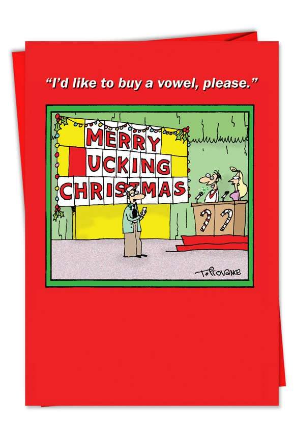 Merry _ucking Christmas: Hilarious Christmas Greeting Card