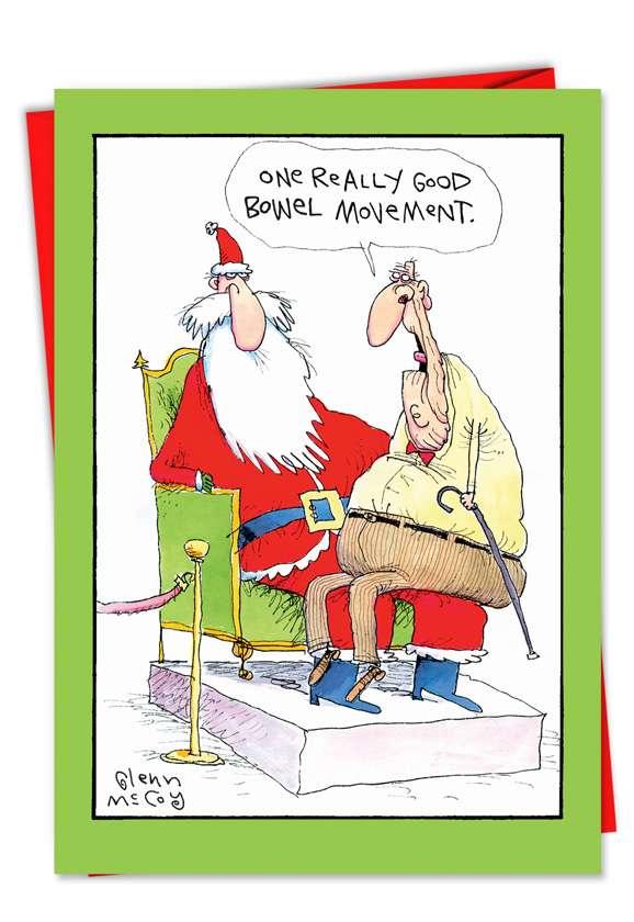 One Good BM: Hilarious Christmas Greeting Card